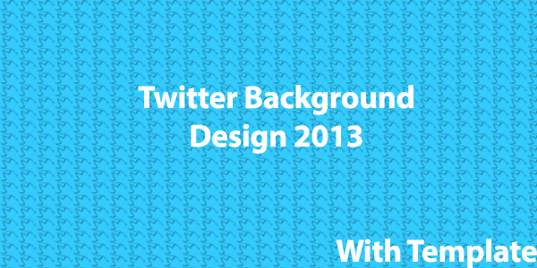 twitter background design 2013 with template ct social
