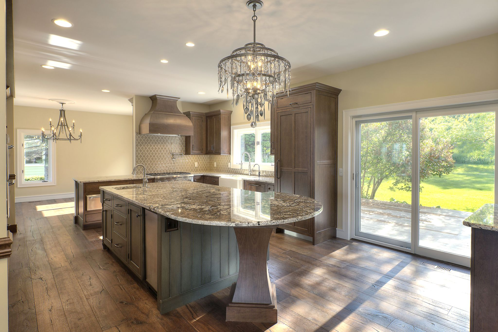A Tasteful Kitchen Remodel In Traverse City, Michigan Was Designed With  Fieldstone Cabinetryu0027s Roca Door Style In Cherry Finished In Cappuccino  With ...