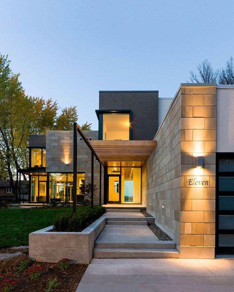 Aménager une entrée de maison moderne Contemporary, Modern and - Photos De Maison Moderne