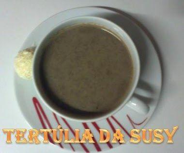 Chocolate quente com canela   Tertúlia da Susy