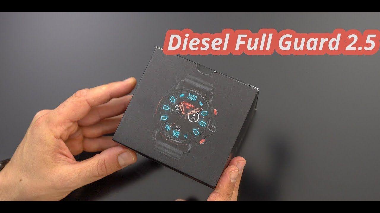 Smart Watch Diesel Full Guard 2 5 Smartwatch Unboxing Erster Eindruck Deutsch Digital Watches Smart Watch Smart Watch Android Diesel