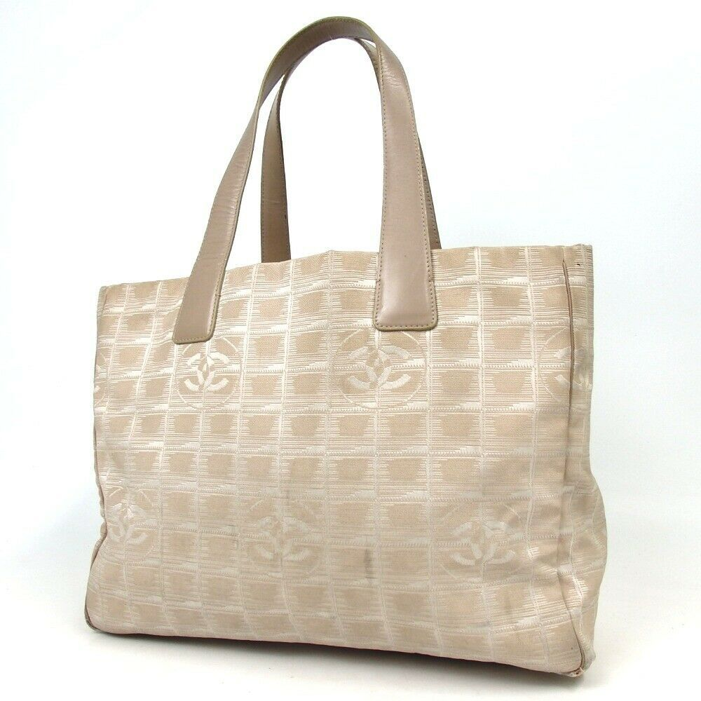 1f39123ce11f FORSALE Authentic CHANEL New Travel Line Tote Bag Canvas[Used] - $21 ...