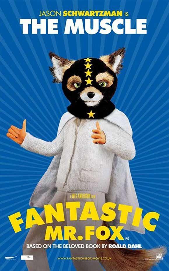Ash The Muscle Fantastic Mr Fox Fantastic Mr Fox Fox Poster Fantastic Mr Fox Characters