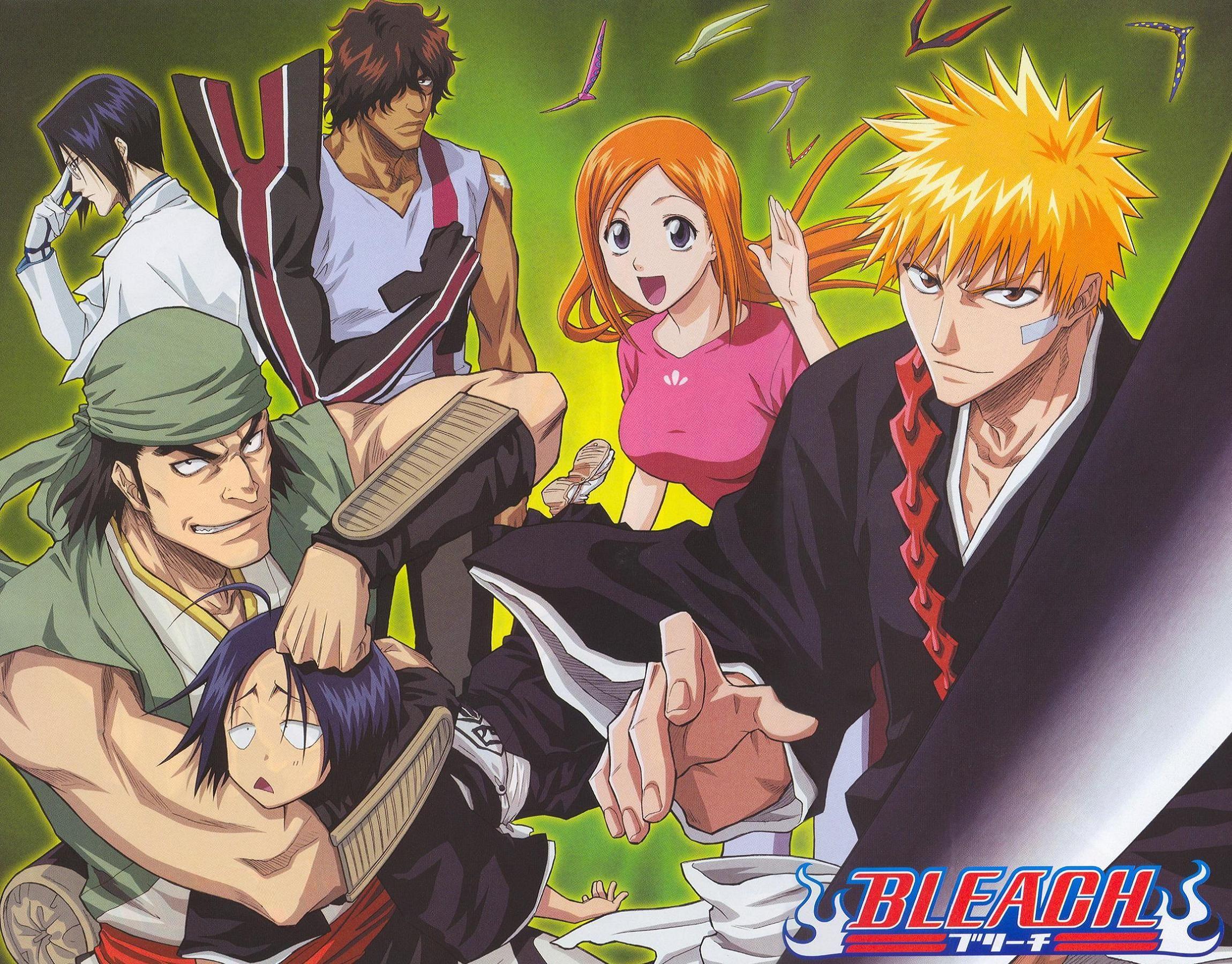 Anime Cool Bleach Wallpaper