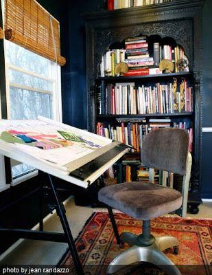 Style Profile: fuse ID   Room Ideas   My art studio, Vintage