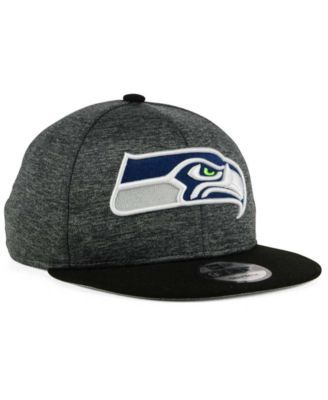 564d993f696 New Era Seattle Seahawks Heather Huge 9FIFTY Snapback Cap - Gray Adjustable