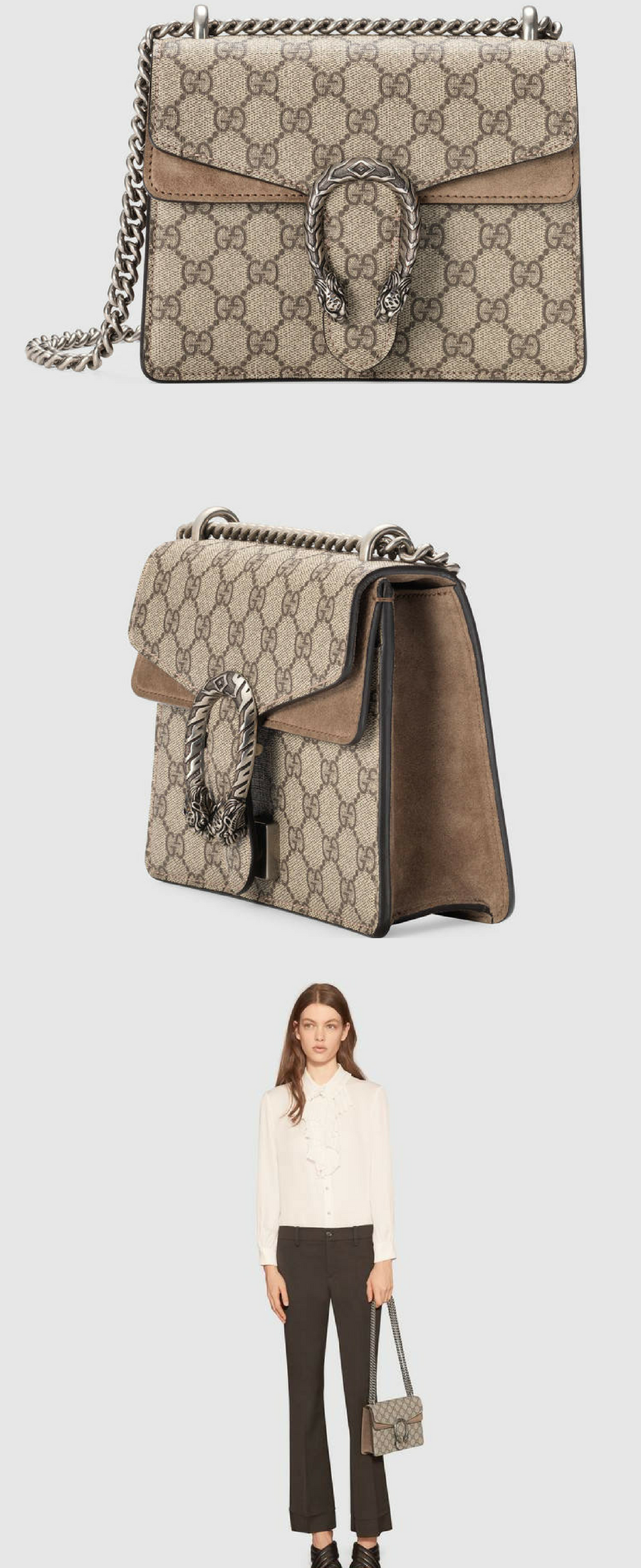 ae48b10c8bb297 Gucci Dionysus GG Supreme mini bag | Women's fashion | Bags, Gucci ...