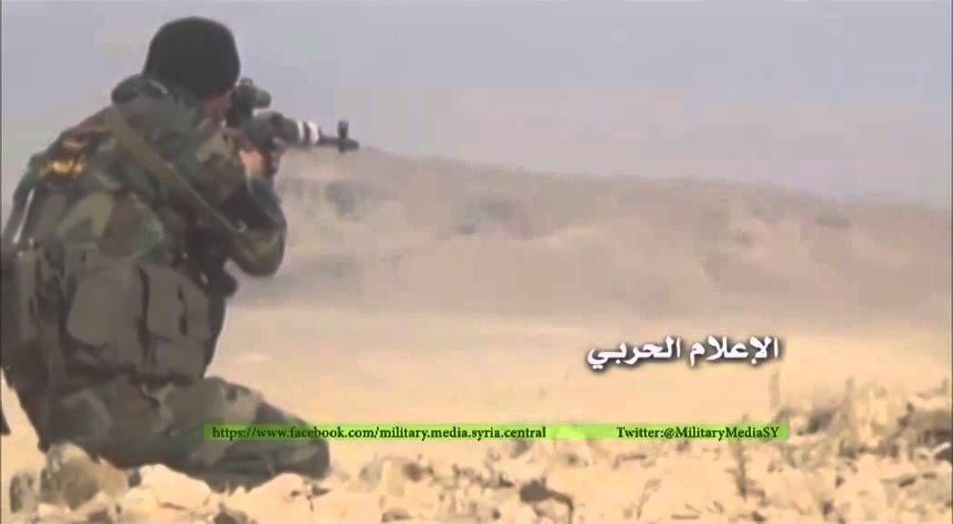 معارك الجيش السوري وتقدمه على مسلحي داعش في ريف حمص الشرقي