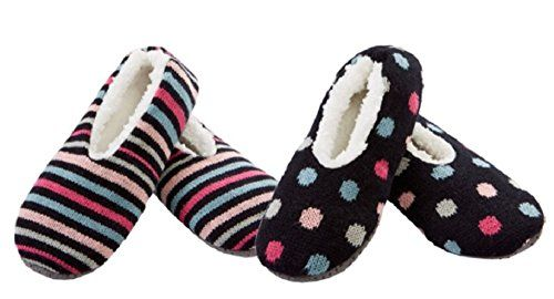 K Bell Sherpa Slipper Socks 2 Pack SM 585 Black2 *** You can find out more details at the link of the image.(This is an Amazon affiliate link and I receive a commission for the sales)