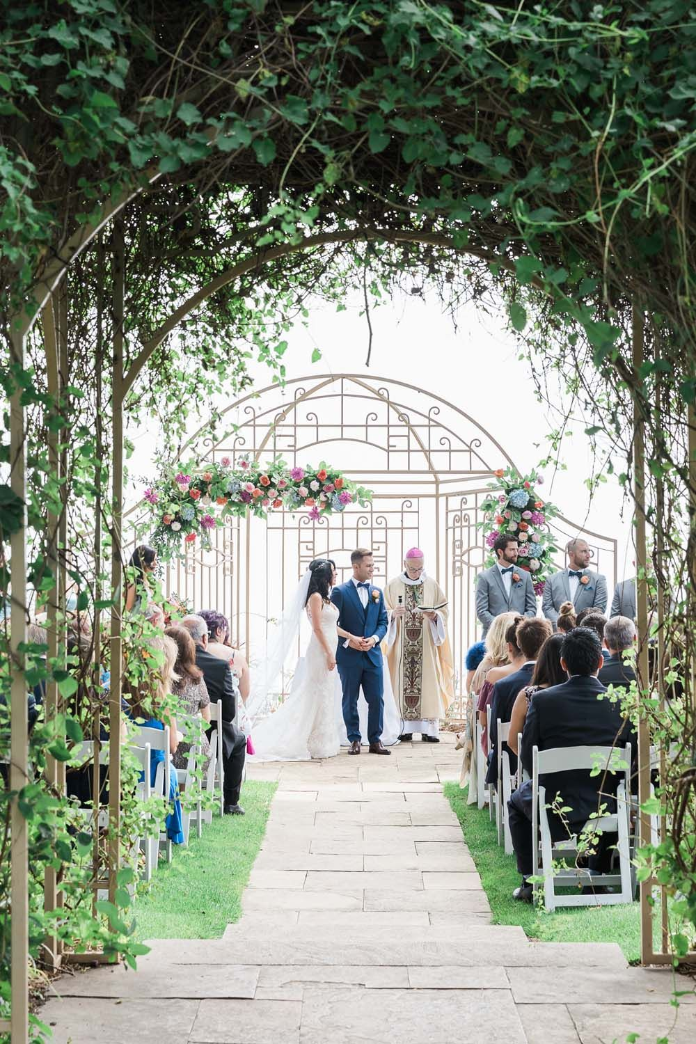 A Vibrant, Colourful FloralFilled Wedding in Toronto