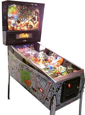 Scared Stiff Pinball Machine For Sale Midway Elvira #elvira ...