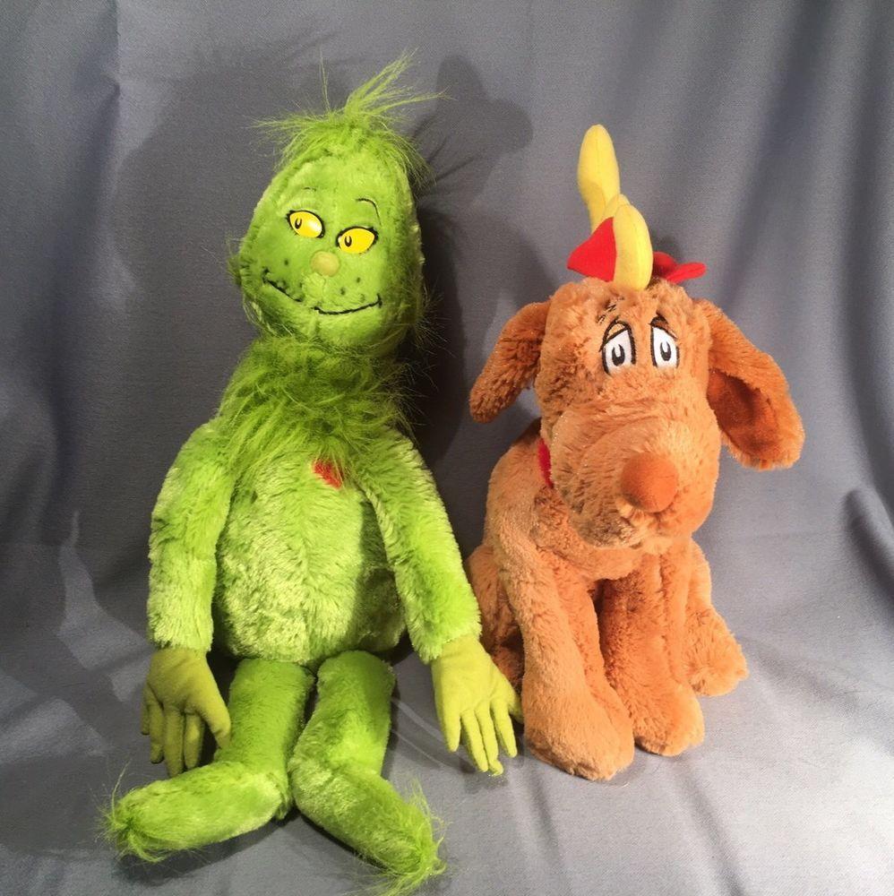 Grinch And Max Plush Set- Grinch Who Stole Christmas- Kohls Cares #Kohlscares