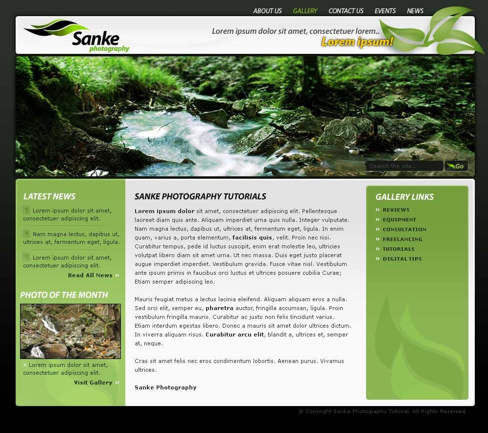 How to Code a Clean Minimalist HTML CSS Website Layout | Website ...