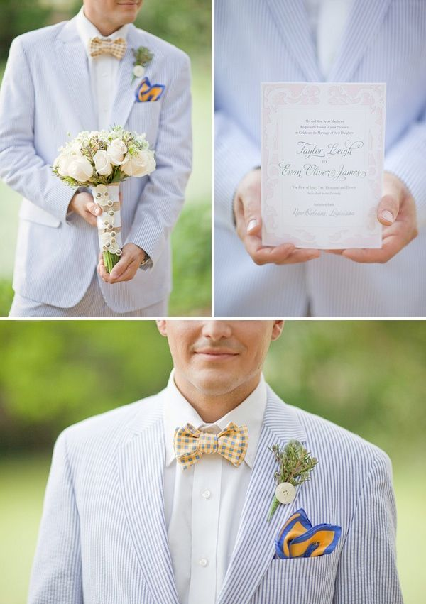 SOUTHERN WEDDING STYLE   lace cake + seersucker suits + the perfect ...