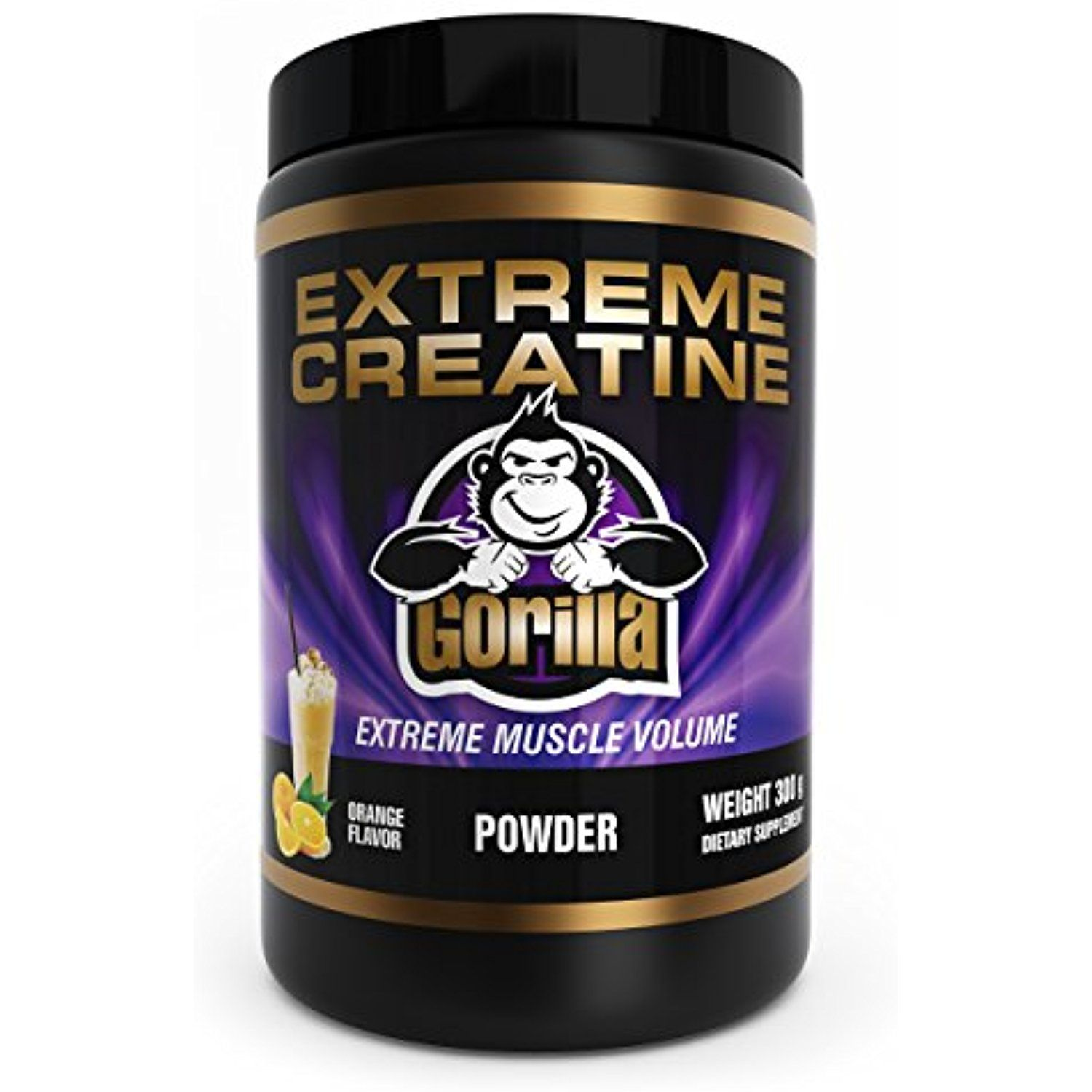Vital Life Usa Extreme Creatine Monohydrate Powder With Maltodextrin And Sucralose 300 Grams Oran Creatine Supplements For Muscle Growth Creatine Monohydrate