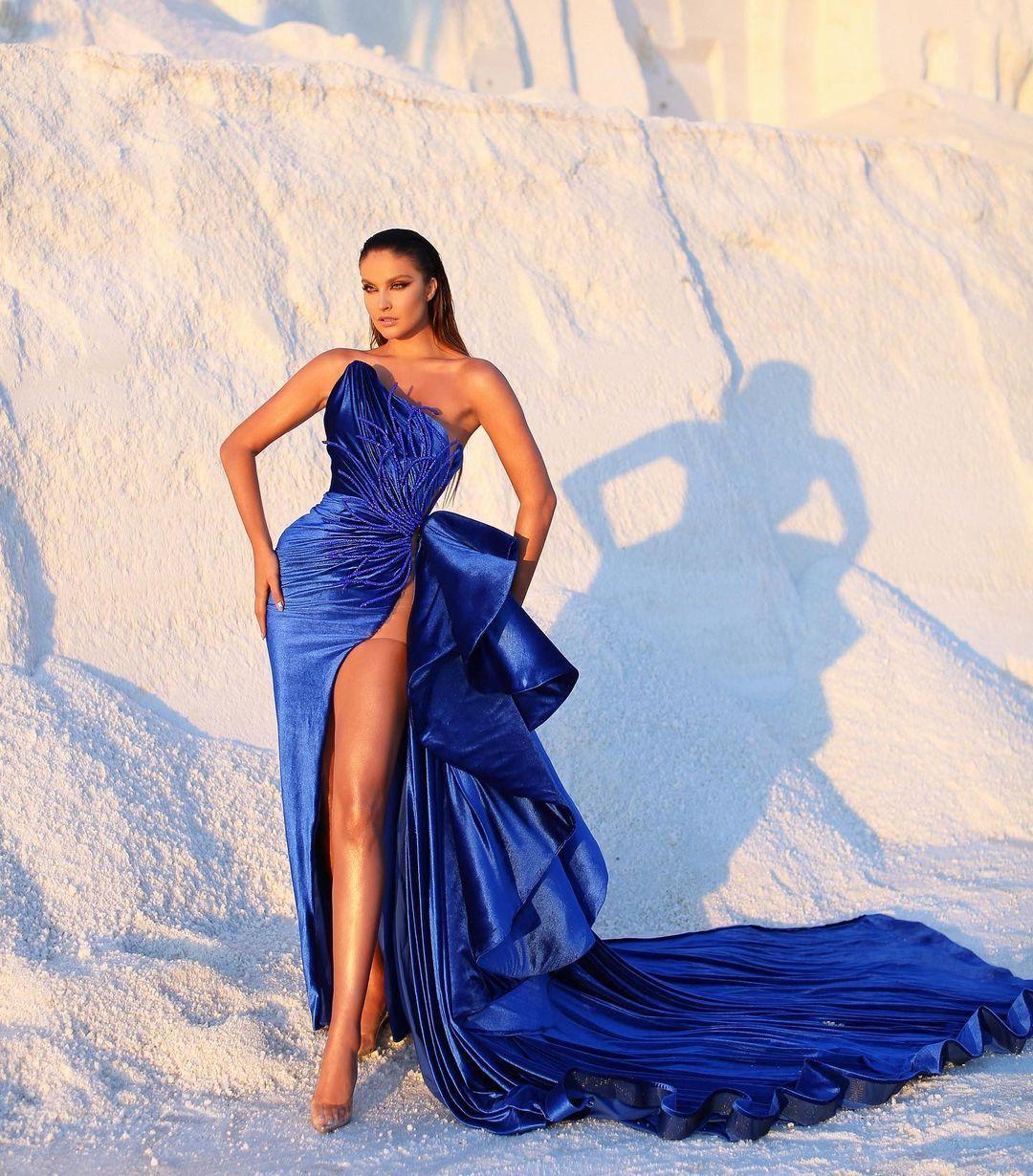 L E N A B E R I S H A On Instagram Iceberg Lena Berisha F W 20 Oriolamarashi Juxhinkurti Bardhakolgeci Mua Egzon In 2021 Event Dresses Gowns Dresses Ball Dresses
