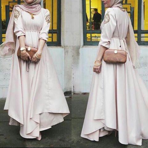 Instagram Photo By Fashion Egypt Nov 7 2015 At 6 01pm Utc Pastel Maxi Dresses Muslimah Fashion Hijab Fashion