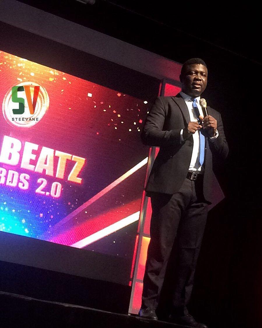 The host for tonight seyilaw1 TheBeatzAwards SV