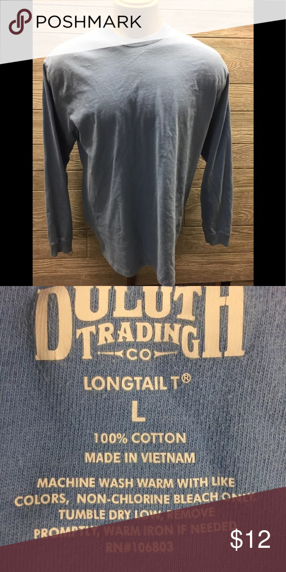 e2db0dab5b56 Duluth Trading Co. Shirt Men's SZ LARGE Duluth Trading Co. Long ...