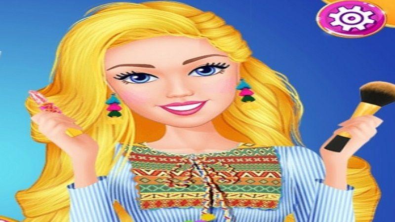 Pin De Barbie Barbie Em Jogos Da Barbie Maquiagem Barbie Eventos De Moda Jogos De Moda