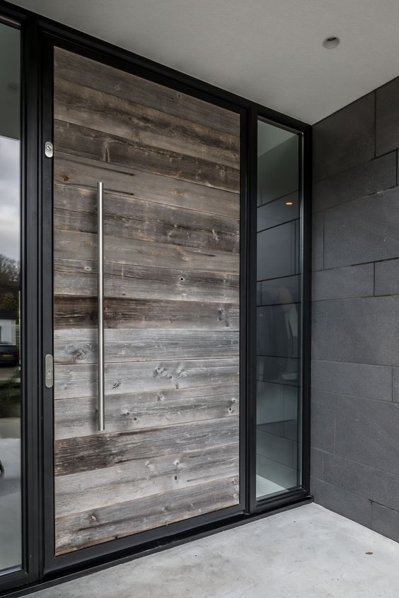 Puertas para exterior modernas dise os de puertas for Casas modernas con puertas antiguas
