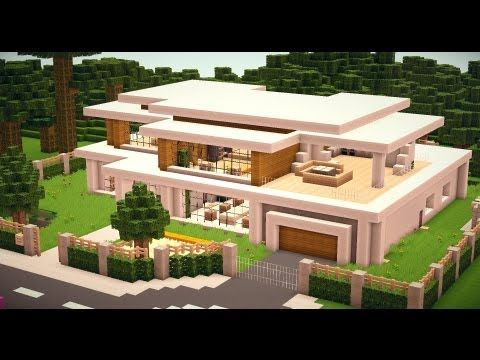 Minecraft Modern House 010 [HD][Download]