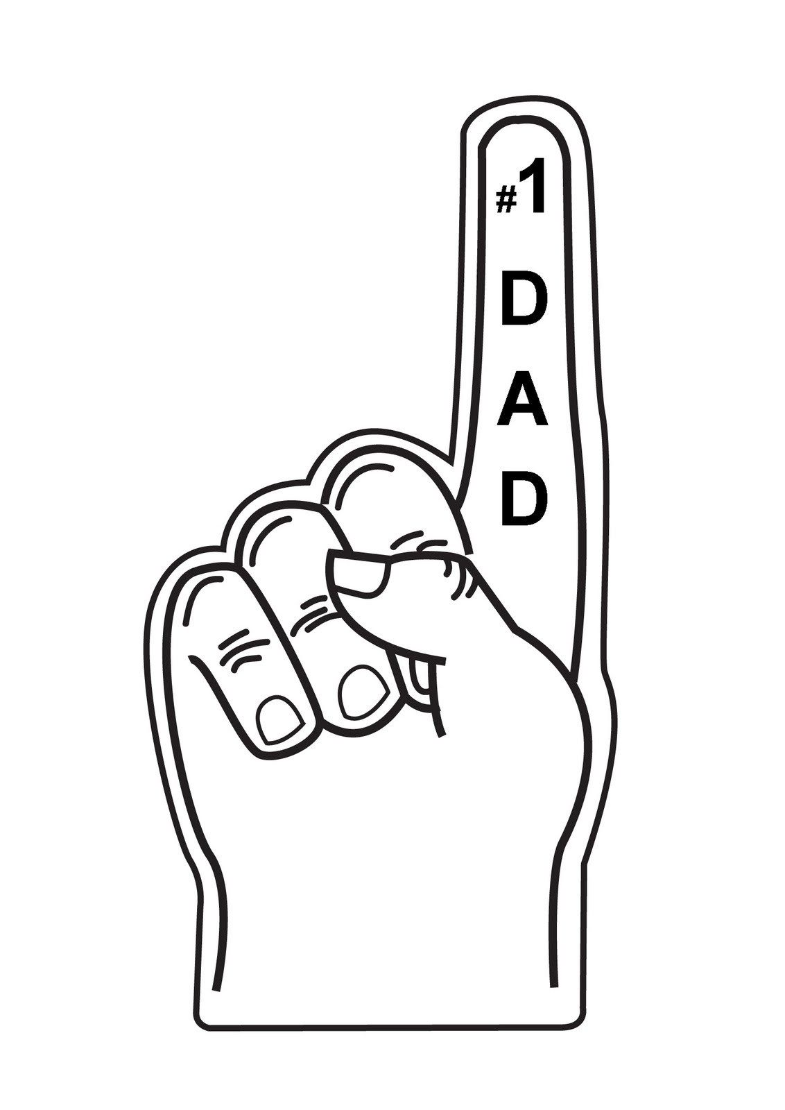 Summer crafts coloring pages - Valentine Cards Kids Can Make Coloring Pages Created This Faux Foam Finger In Illustator To
