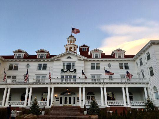 Estes Park Colorado The Haunted Stanley Hotel Hdr Part 1