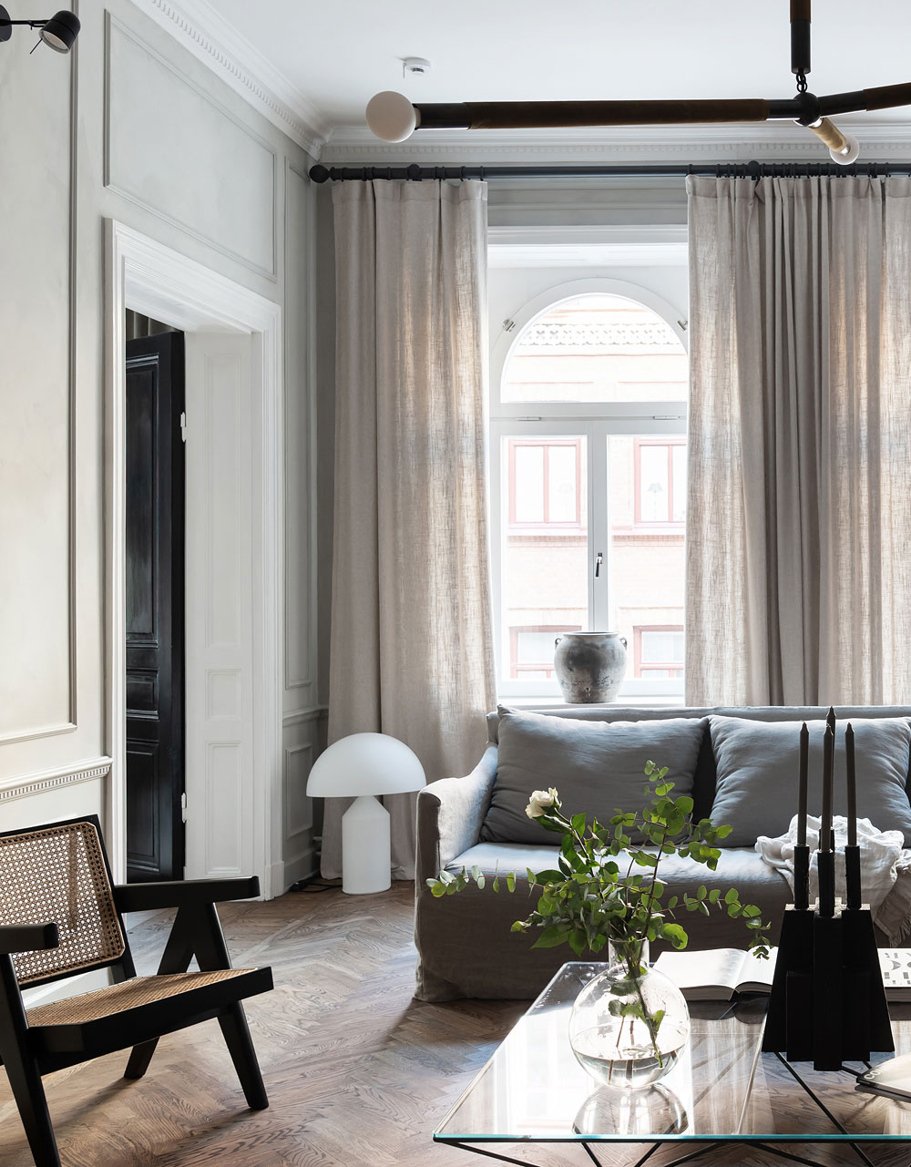 Photo of Inside a Sophisticated and Classically Beautiful Home that Defines the Concept of Livable Luxe – Nordic Design