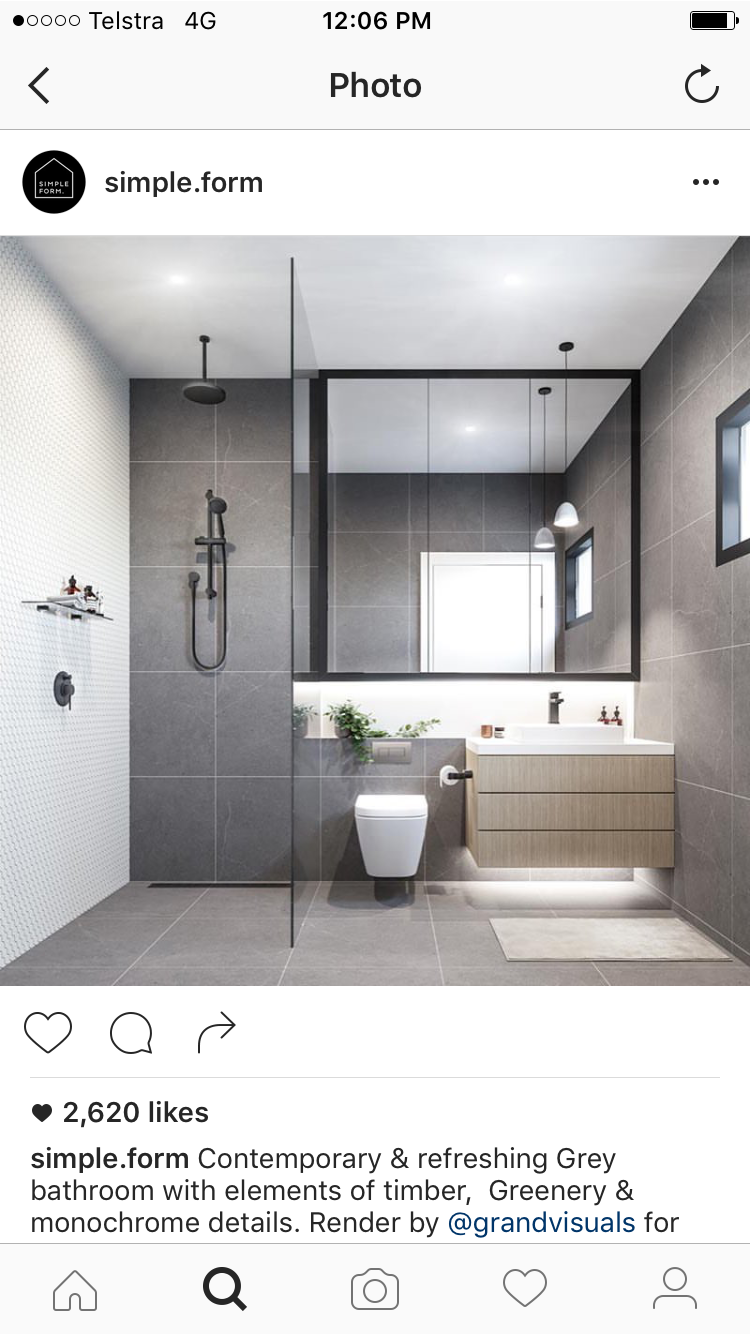 I like the smooth floor with no shower lip | Guest Bath | Pinterest ...