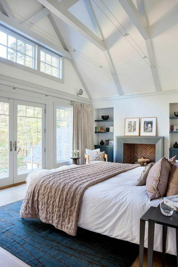 Schlafzimmer Einrichtungsideen Geordnet Sauber Frisch Fenster