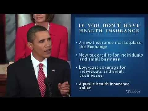 Obama S Health Plan In 4 Minutes No One In The United States