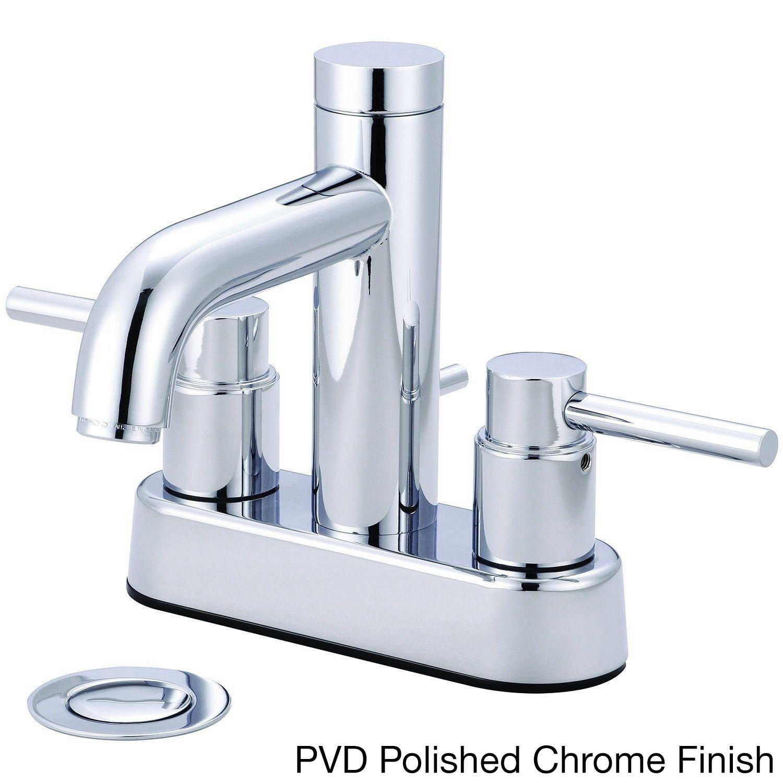 Pioneer Motegi Series \'3MT100\' Two-handle Lavatory Faucet (PVD ...