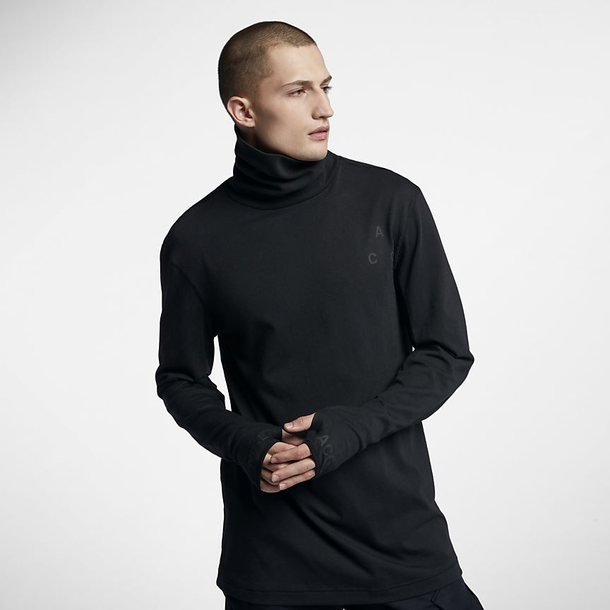 ed643328 NikeLab ACG Long-Sleeve Men's Top | fashion | Mens tops, Tops, Long ...