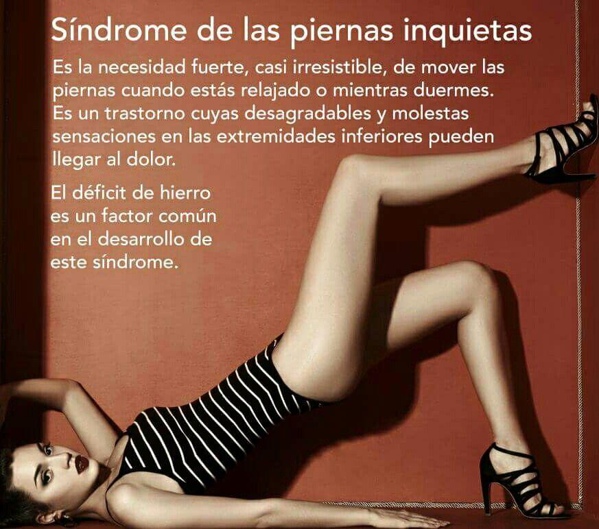 Síndrome de las piernas inquietas.