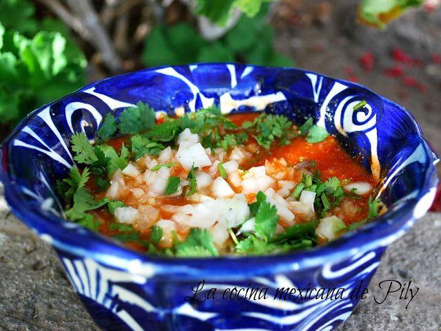 La cocina mexicana de Pily: Salsa borracha | Salsas Mexicanas ...