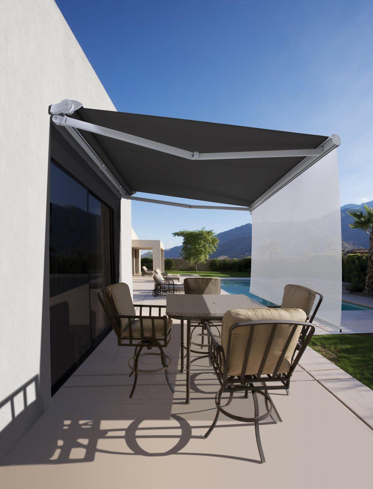 Awning pergolas toldos pinterest terrazas - Toldos para patios exteriores ...