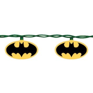 online store 101c0 b9252 Kurt S. Adler 10-Light Batman Christmas Light Set | Braecen ...