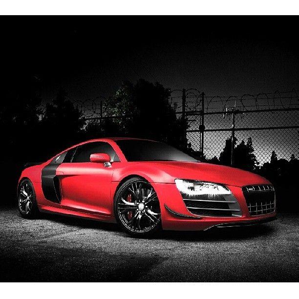 Audi R8 With Images Super Car Racing Red Audi Car Wallpapers