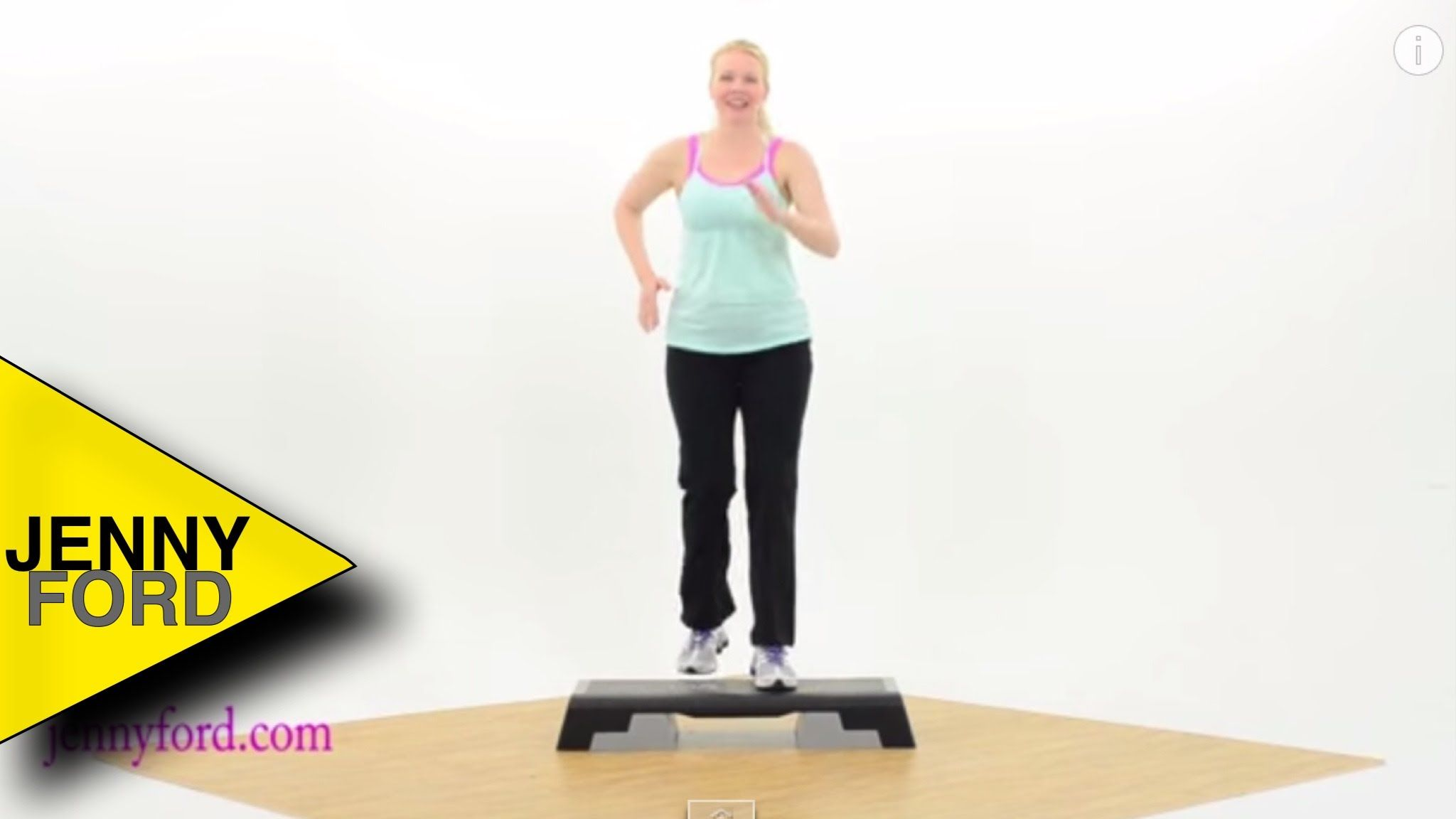 Beginner Step Aerobics Fitness Cardio Jenny For With Images