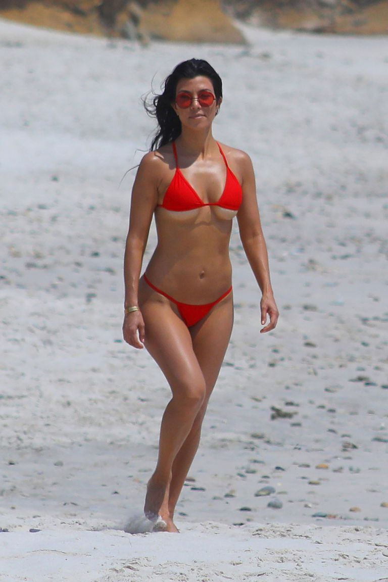 e2d54e2e763 See the 17 Craziest Celebrity Swimsuits Ever Kourtney Kardashian The  reality star undeniably put underboob on the map.