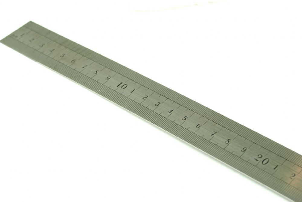 60cm Steel Ruler Can Be Used As A Straight Edge As Well As A Ruler Standard High Precision Rule For Workshop Engineeri Straight Edges Hobby Tools Craft Tools