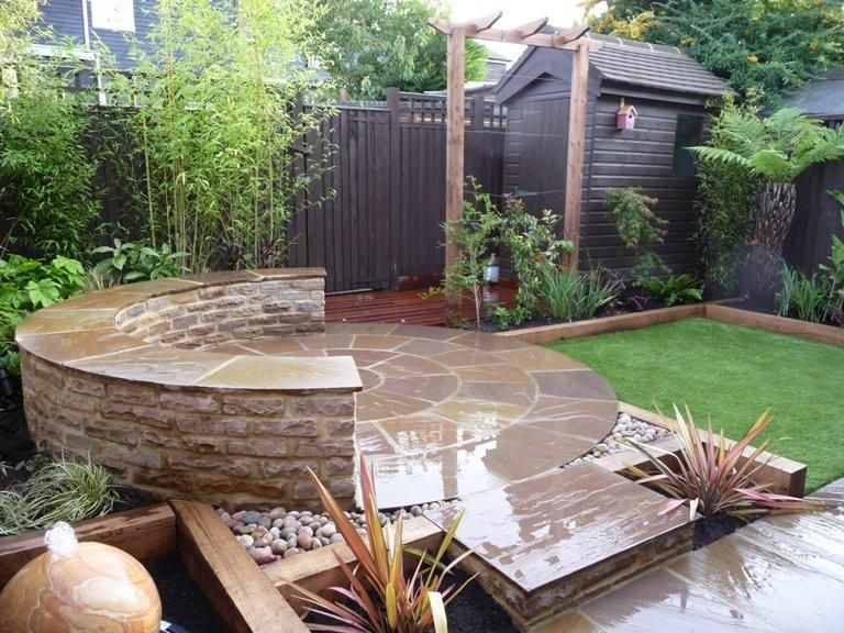 Small Town Garden Ideas Google Search Small Garden Uk Small