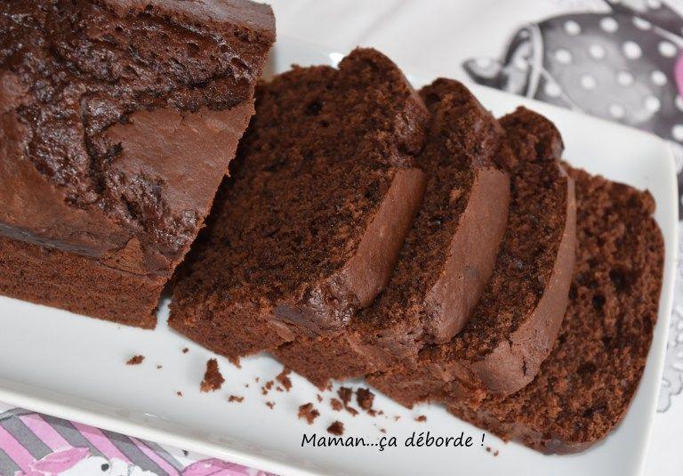 Cake au chocolat noir (léger) - Maman...ça déborde