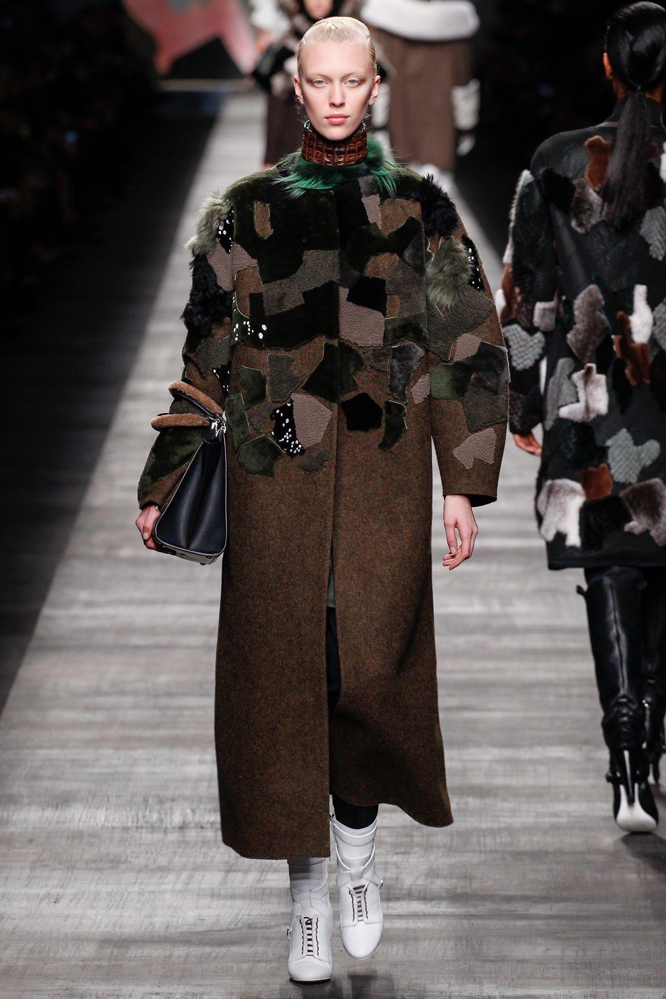 Fendi Fall 2014 Ready-to-Wear Fashion Show - Juliana Schurig