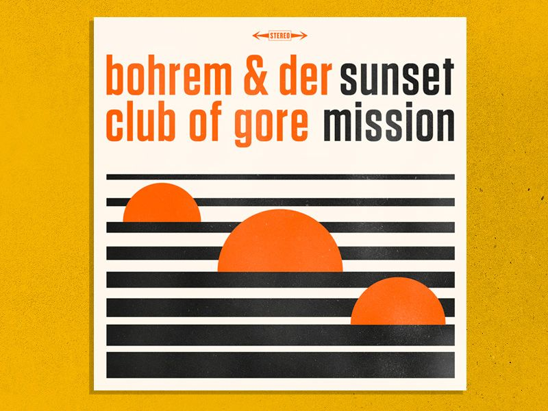 Bohren And Der Club Of Gore Sunset Mission