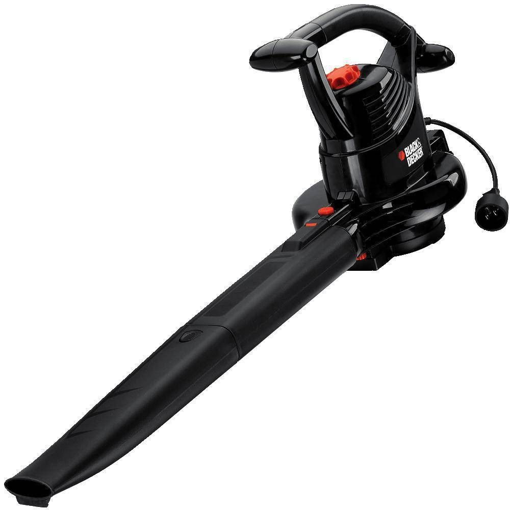 Blackdecker 12a bv3100 leaf blower orange leaf blower
