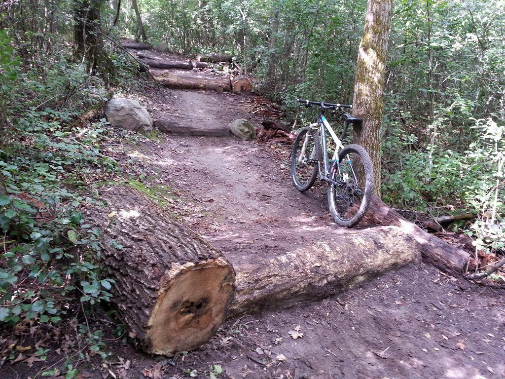 diy mountain bike obstacles bike club pinterest diy mtb and