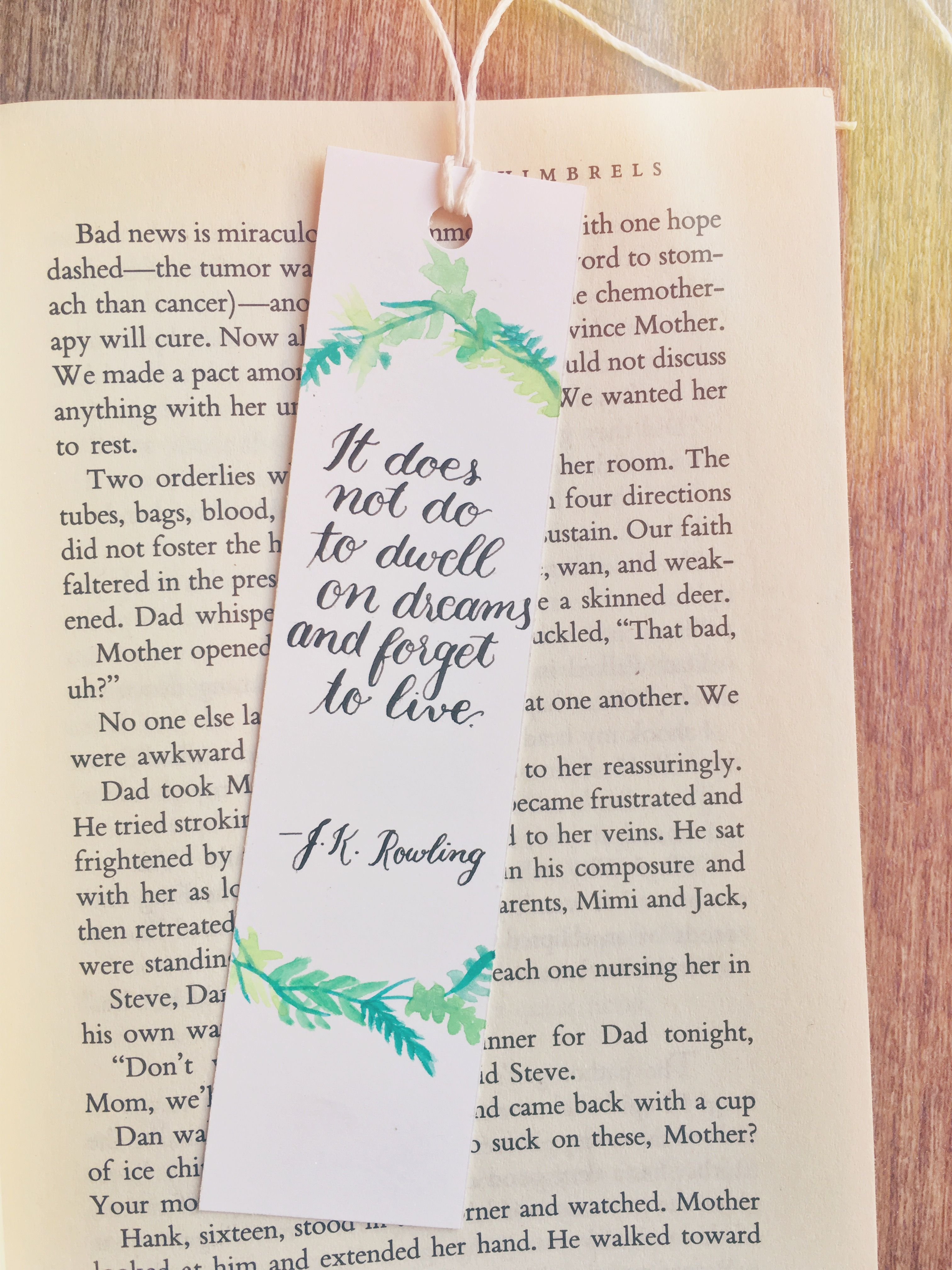 Watercolor bookmark patterns - Find This Pin And More On Lettering