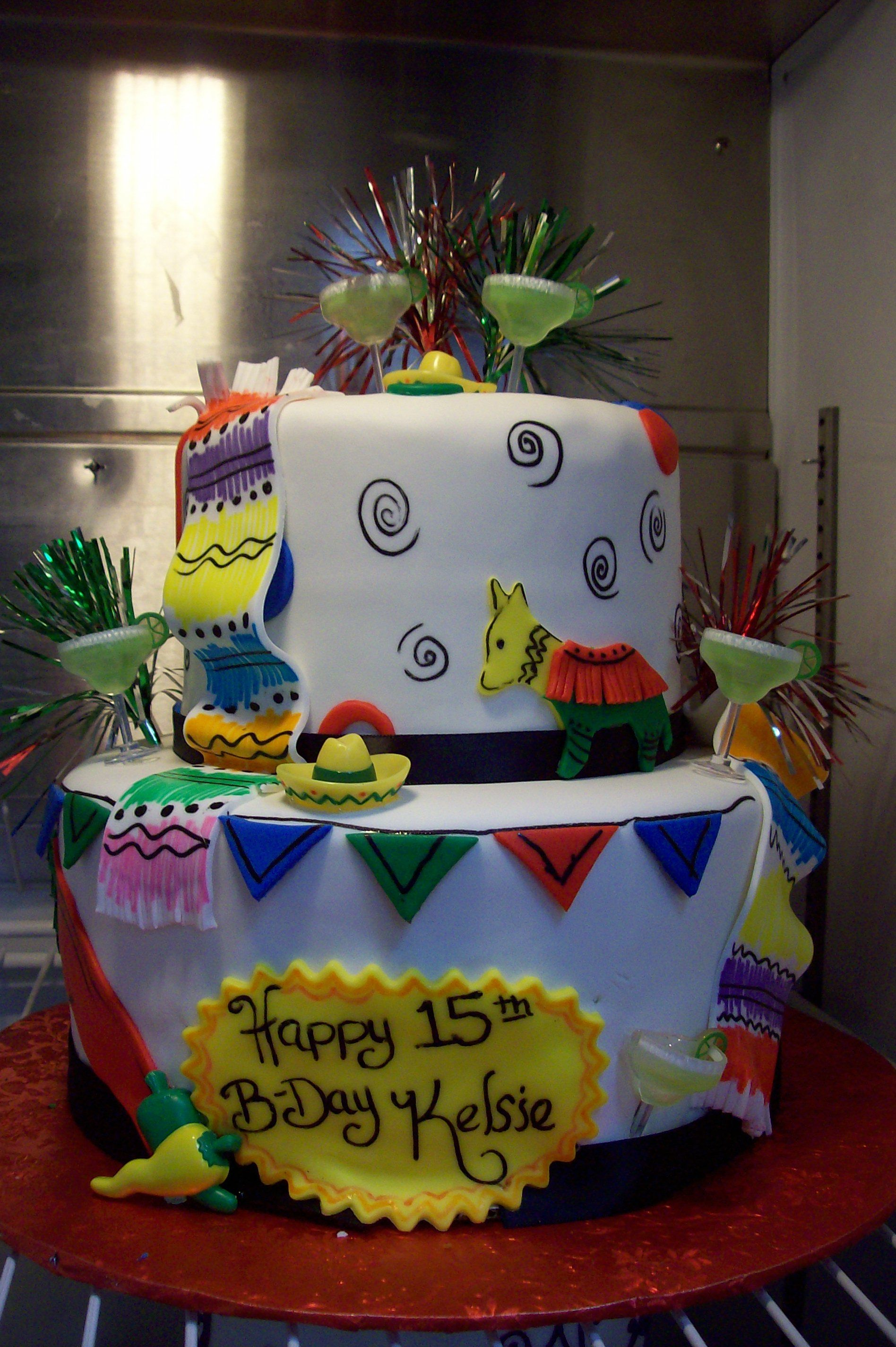 Fiesta Cinco De Mayo Birthday Cake Birthday Cake Shop